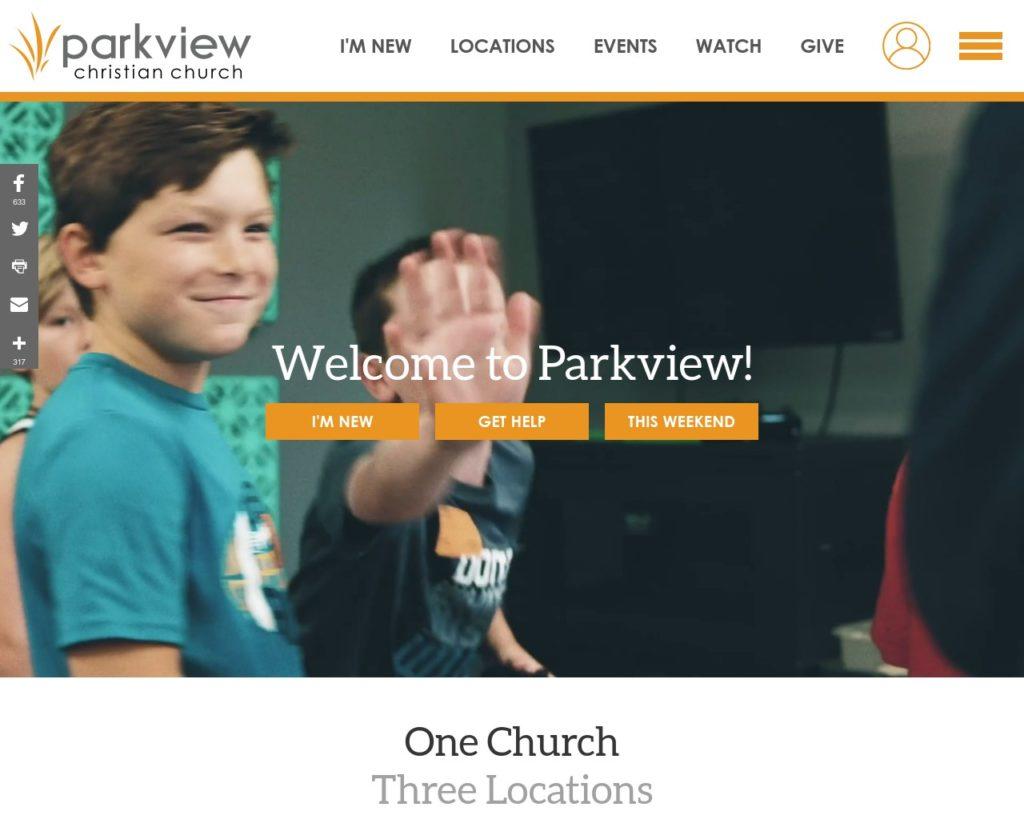 parkviewchurch.com
