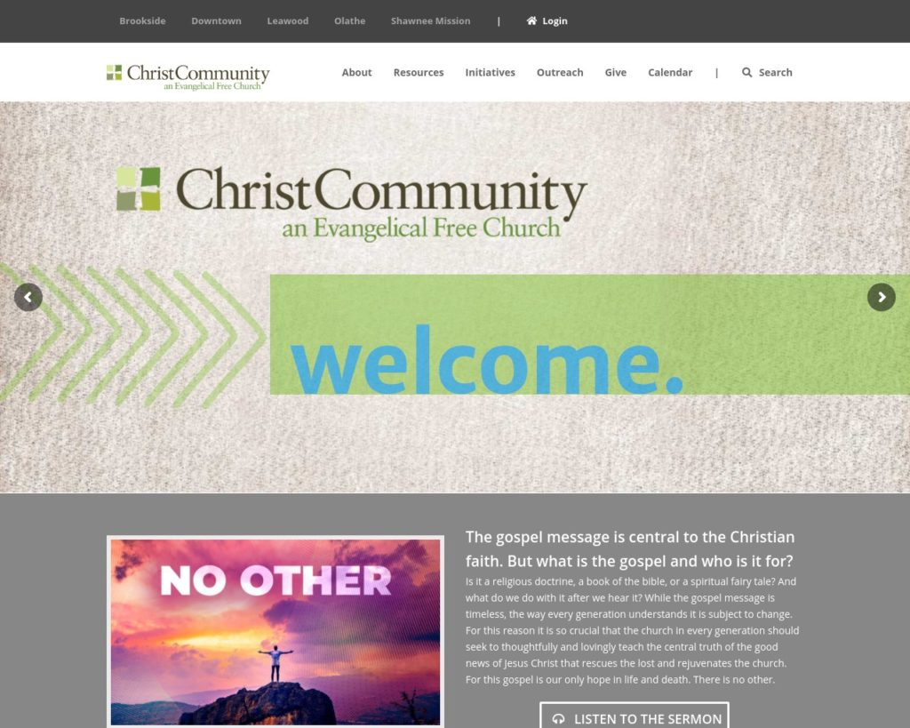 Water of Life Community Church – Church Web Guide